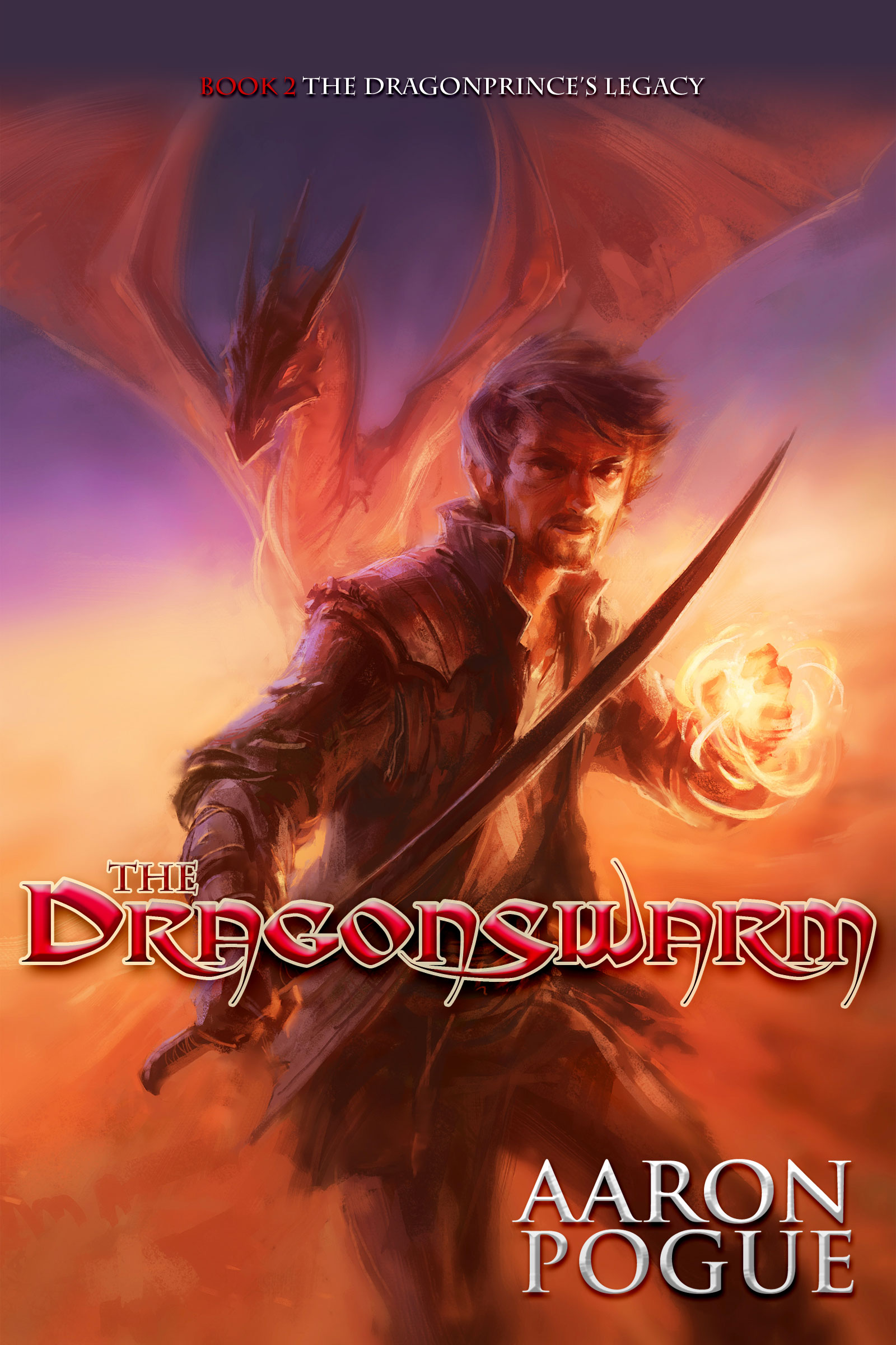 The Dragonswarm Cover